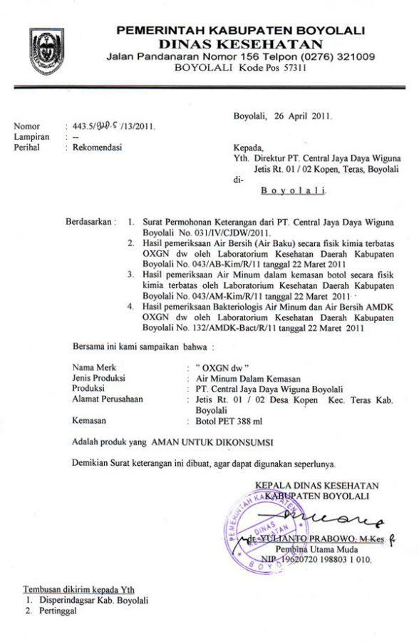 C/contoh Surat Rasmi | Template Printable